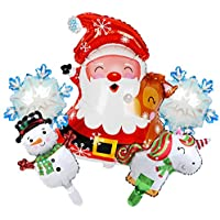 Oxive Large Christmas Party Christmas Balloons Decorations