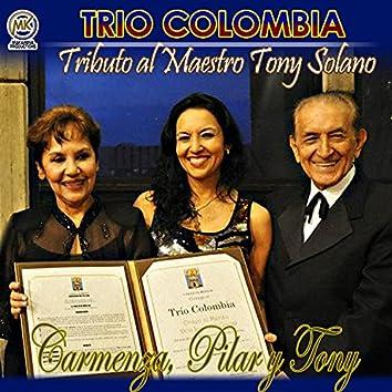 Tributo al Maestro Tony Solano  Carmenza, Pilar y Tony