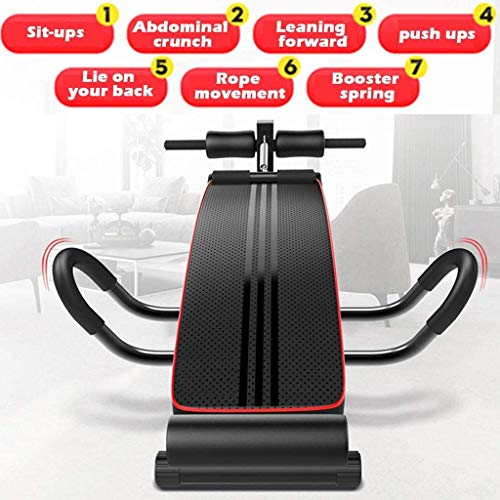 Tengma Adjustable Weight Bench, Foldable Decline Sit up Bench Crunch Board, Ab Abdominal Bench Fitness Home Gym Exercise Sport Support for Bench Press, Leg Lifts, Dumbbell Curls