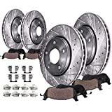 Detroit Axle - Brakes Kit Replacement for Toyota...