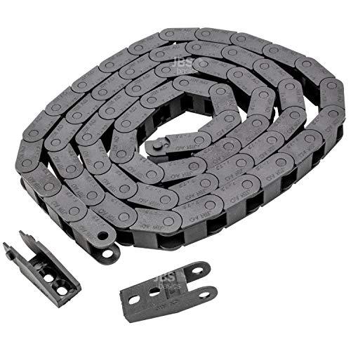TOOGOO R 10 x 20 mm 1 M oeffnen an beiden Seiten Kunststoff-Schleppleine Schleppkette