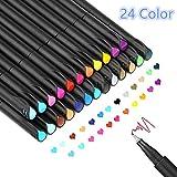 24 Fineliner Stifte