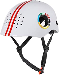 XuBa Outdoor Sports Cycling Helmet Bicycle Pulley Skateboard with Light Helmet