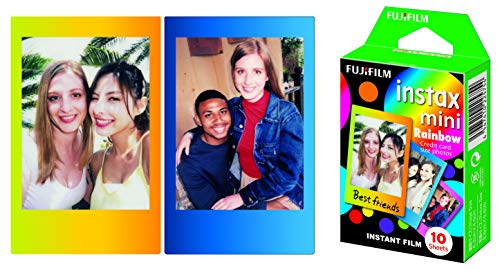 instax Rainbow Mini Film, 10 Shot Pack