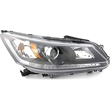 Amazon Com Honda Accord Sedan 13 Headlight Assembly Halogen Lh Usa Driver Side Automotive