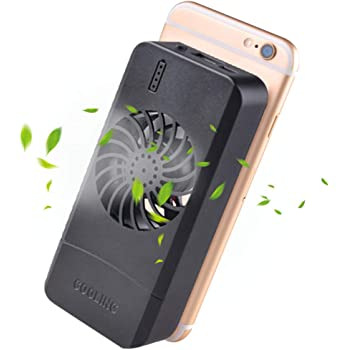 Aceyyk Phone Cooler Fan,Semiconductor Fast Cooling Cellphone Fan for All Models of 4-6.5 Inch I Phone Android Phones