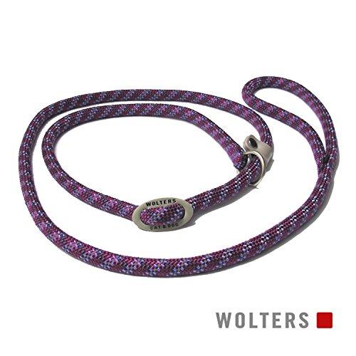 Wolters | Moxonleine Everest reflektierend in Pflaume/Lavendel | L 180 cm x B 1,3 cm