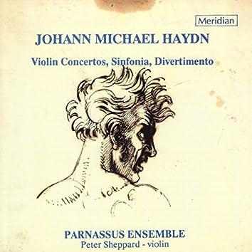 Michael Haydn: Violin Concertos, Sinfonia, Divertimento