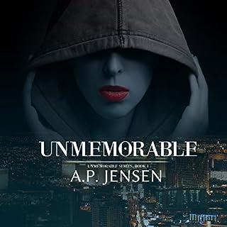 Unmemorable audiobook cover art