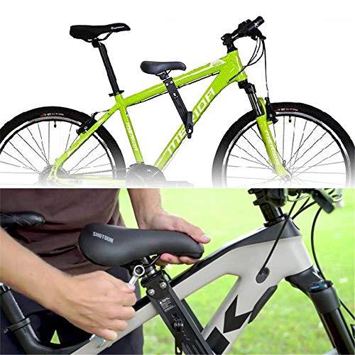 HXDY Vorderes Fahrrad Kind Im Freien Eltern-Kind-Sitz, Kind Mountainbike Lenker Befestigung, Für Fahrrad Im Freien Kindersicherheit Sitz + Armlehne
