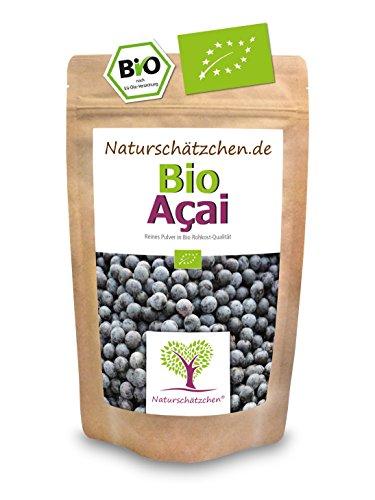 Bio Acai Pulver (Acaipulver) in geprüfter Bio-Qualität (DE-ÖKO-22) - Bio Superfood (1x 100g)
