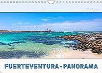 FUERTEVENTURA-PANORAMA (Wandkalender 2022 DIN A4 quer): Endlose Straende, schroffe Berghaenge, Urlaub pur (Monatskalender, 14 Seiten )
