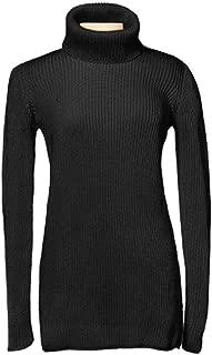 Christine Griffin Women's Michaela Turtleneck 100% Pima Cotton Sweaters