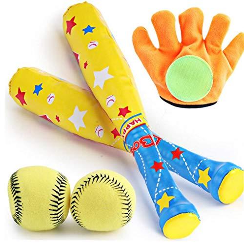 Kinder-foam Baseball Set Toy Baseballhandschuh Mit Softball Outdoor Sports Spielzeug-set Interaktives Spiel Für Kinder Erwachsene Ideal Geschenk