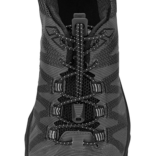 Nathan NS1170 Run Laces Black, One Size