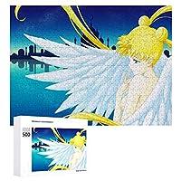 美少女戦士セーラームーン ジグソーパズル 1000ピース diy 絵画 学生 子供 TOYS Jigsaw Puzzle 木製パズル 溢れる想い おもちゃ 幼児 アニメ 漫画 プレゼント エンスカイ Sailor Moon 可愛い 若い女の子 減圧 誕生日 新年 ギフト 壁飾り 無毒無害 ギフト クリスマス