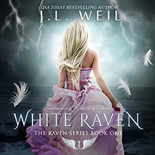 White Raven     The Raven Series Book 1              By:                                                                                                                                 J.L. Weil                               Narrated by:                                                                                                                                 Caitlin Kelly                      Length: 9 hrs and 18 mins     11 ratings     Overall 4.0