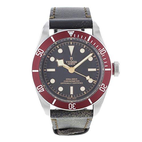 Tudor Heritage Black Bay Auotmatic Mens Watch 79230R-BK-BURLS