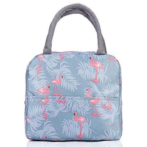 Insulated Lunch Bag, VLikeze Wide Open Lunch Tote Lunch Box Picnic Bags...