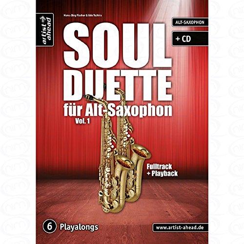Soul Duette 1 - arrangiert für zwei Alt-Saxophone - mit CD [Noten/Sheetmusic] Komponist : FISCHER HANS JOERG