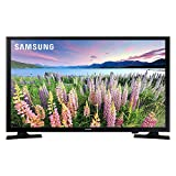 Samsung UN40N5200AFXZA Flat 40-Inch FHD 5 Series Full HD Smart LED TV with Alexa and Google Assistant Compatibility, Black