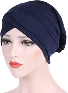 Indisch Damen Turban Chemo Haarpflege Bonnet Schlafmütze Nachtmütze Kopf Turban