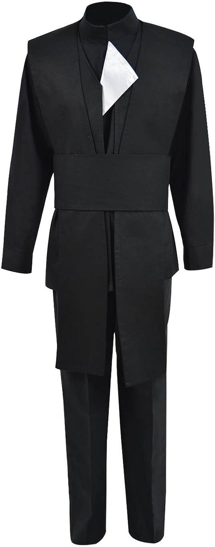 overseas TISEA Men's Skywalker Jedi Luke Halloween Cosplay 5 ☆ very popular Costume Outfit