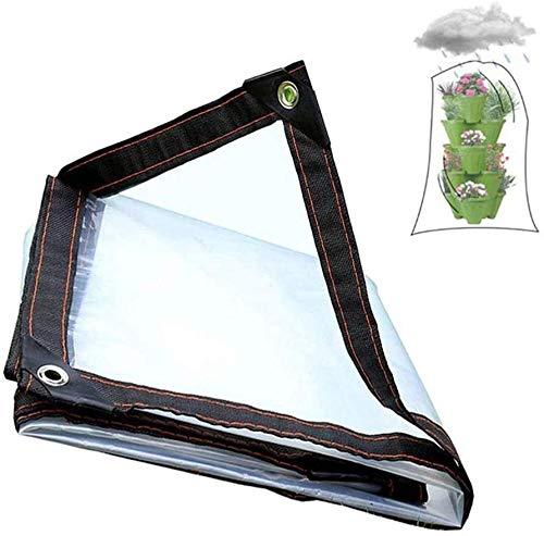 Lonas, Impermeable Transparente De Tela De Plástico De Fábrica De Aislamiento Flor Shed Patio Pergola UV Resistente (Size : 3x8m)