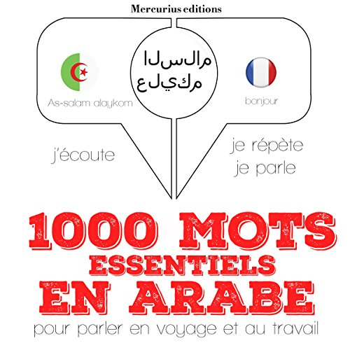 1000 mots essentiels en arabe audiobook cover art