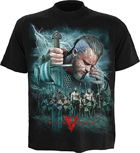 Spiral - Vikings - Battle - T-Shirt - Schwarz - XXXL