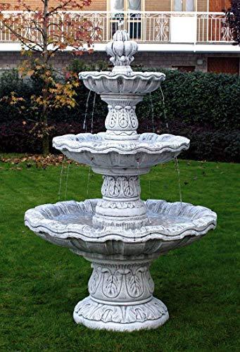pompidu-living Springbrunnen Niagara H 195 Farbe Terracotta