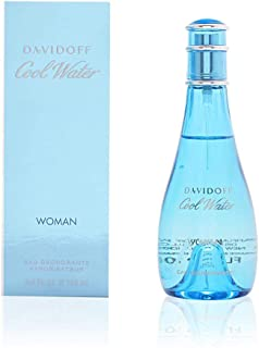 Cool Water by Zino Davidoff | Eau de Toilette | Fragrance for Women | Ocean Breeze and Sea-Water Scent | 100 mL / 3.4 fl oz