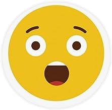 DIYthinker Shock Amazing Yellow Cute Online Chat Anti-Slip Floor Pet Mat Round Bathroom Living Room Kitchen Door 80Cm Gift