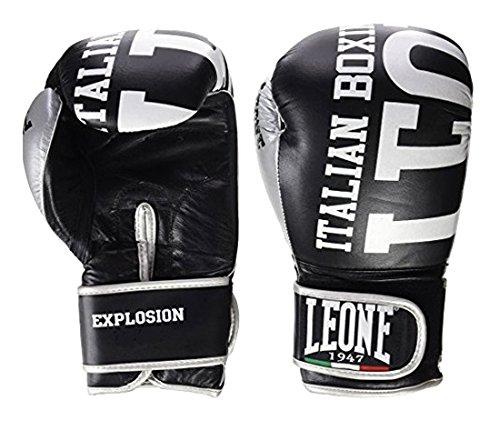 Leone 1947 Guantes de boxeo, modelo Explosion negro negro Talla:14 Oz