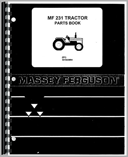 Massey Ferguson 231 Tractor Parts Manual