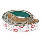 Red Label Abrasives 2 X 72 Inch 36 Grit Metal Grinding Zirconia Sanding Belts, 6 Pack