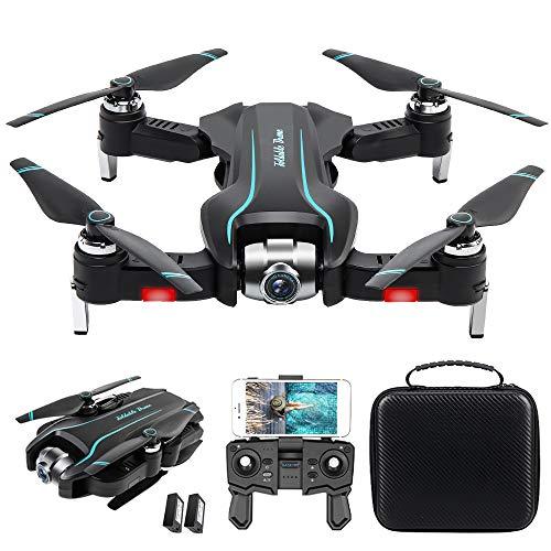 Goolsky S17 RC Drohne mit Kamera 4K Drohne RC Quadcopter Flugbahn Handflächensteuerung MV Produktion Optischer Fluss Positionierung Geste Foto Video Follow Me Tragbare Tasche 2Batterie