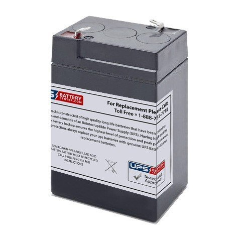 Interstate All Battery SLA0905 Lead Acid Replacement Battery - 6V 4.5A