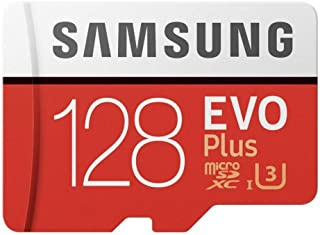 Sandisk MB-MC128GA/APC Samsung 128GB EVO Plus Class 10 Micro SDXC with Adapter (MB-MC128GA/APC) Black