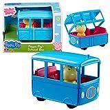Peppa Pig Selección de Vehículos Juego Figura y Accesorios, Figura:School Bus