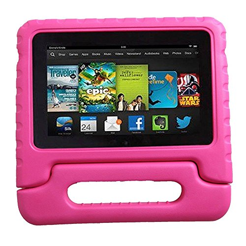 Eagwell Fire 72015Custodia–Kiddie Light Weight Shock Proof Convertible Handle Stand Kids Friendly Cover per Amazon Fire 7Tablet (Fire 17,8cm Display 5th Generation–2015Release)