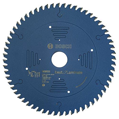Bosch Professional 2608642133 Kreissägeblatt Best for Laminate 216 x 30 x 2.5/1.8 mm Z60TR-F