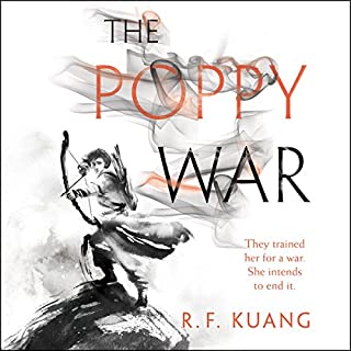The Poppy War audiobook cover art