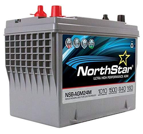 NorthStar NSB-AGM24M AGM Marine Battery 840CCA 1000 CA/MCA