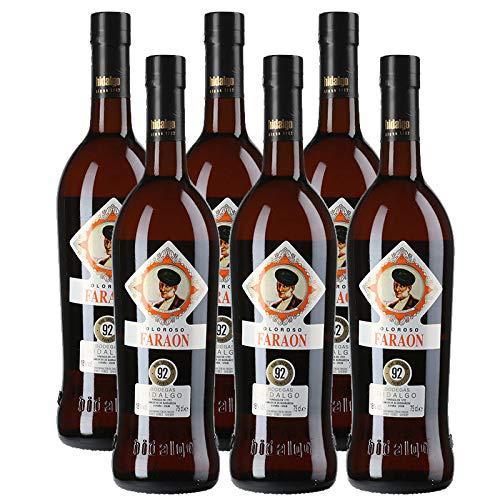 Wein Oloroso Faraon von 75 cl - D.O. Jerez - Bodegas Hidalgo La Gitana (6 Flaschen)