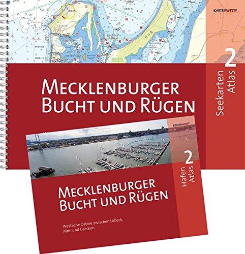 SeeKarten Atlas 2 | Mecklenburger Bucht und Rügen: Westliche Ostsee zwischen Lübeck, Bornholm und Usedom