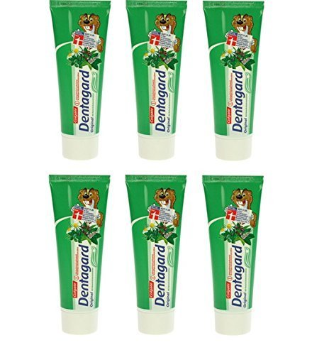6 * Dentagard Zahncreme 75ml Original in der Tube (6*75ml)