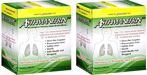ASTHMANEFRIN for asthma relief 30 ct (Pack of 2)