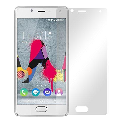 Slabo 2 x Bildschirmfolie für Wiko U Feel Lite Bildschirmschutzfolie Zubehör Crystal Clear KLAR