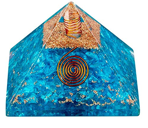 Bliss Creation Reiki - Pirámide de curación de chakra energizada, para yoga, meditación, energía positiva.